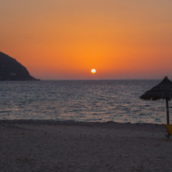 Sunset in Lefkada © Ronald & Sylke by Flickr