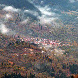 photo of agia triada village, Karpenisi, travel & discover mysterious Greece