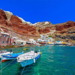 photo of ammoudi, Santorini, travel & discover mysterious Greece