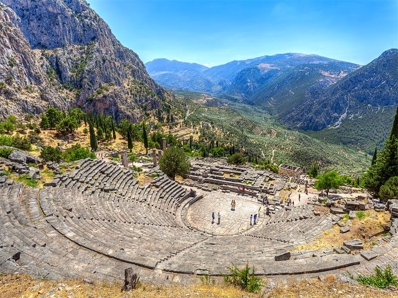 Ancient Theatre of Delphi