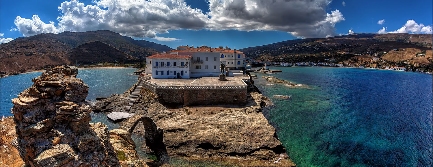Andros The Noble Isle of Captains in Greece Travel Guide