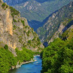 photo of aoos  river, Ioannina, travel & discover mysterious Greece