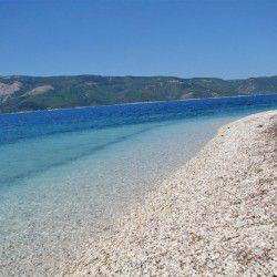 Aspros Gialos Beach © ithacanews.gr
