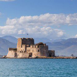 photo of bourtzi, Nafplio, travel & discover mysterious Greece