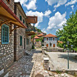 photo of domiani village, Karpenisi, travel & discover mysterious Greece