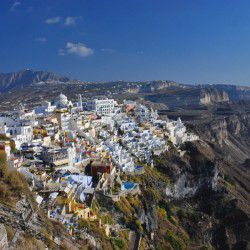 photo of fira, Santorini, travel & discover mysterious Greece