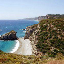 photo of kaladi beach, Kythera, travel & discover mysterious Greece