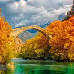 photo of konitsa bridge, Ioannina, travel & discover mysterious Greece