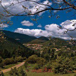 photo of korisades village, Karpenisi, travel & discover mysterious Greece