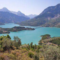 photo of kremasta lake, Karpenisi, travel & discover mysterious Greece