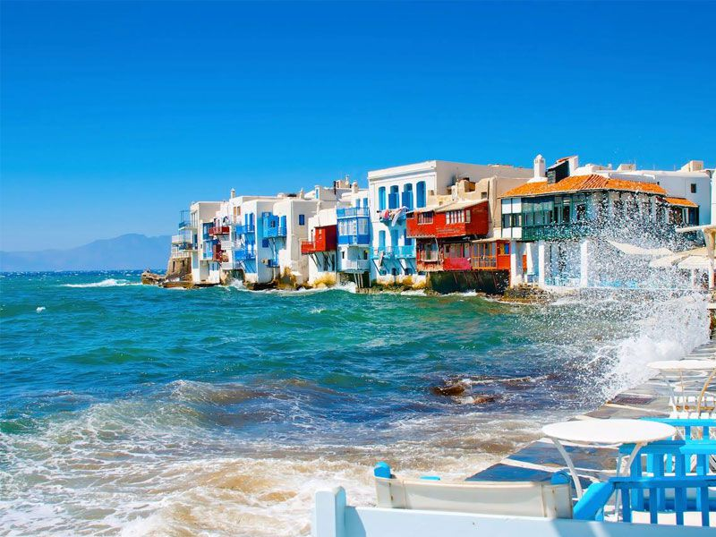 photo of littlevenice, Mykonos, travel & discover mysterious Greece
