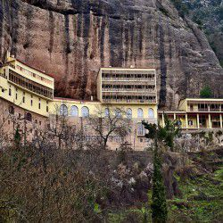 photo of monastery megaspileo, Kalavryta, travel & discover mysterious Greece