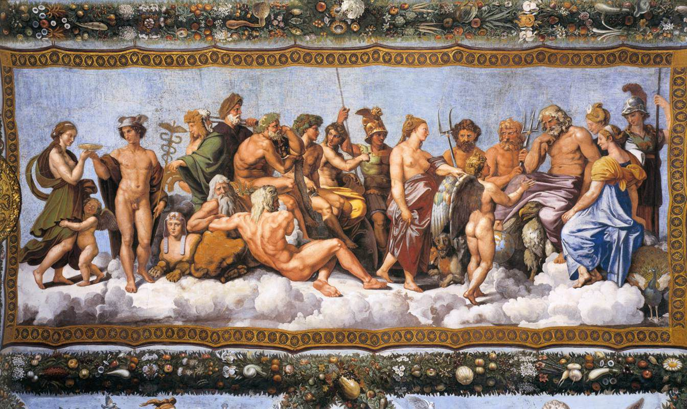 Ancient Greece's Mythology  Information on All Greek Gods