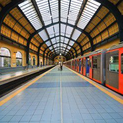 Pireaus Train Station © Shutterstock