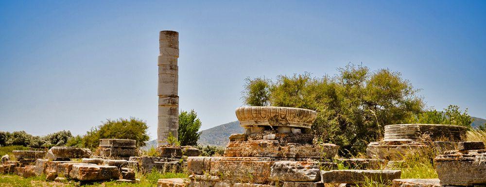 Samos The Greek Island Of Goddess Hera Travel Guide