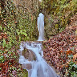 photo of tornos waterfalls, Karpenisi, travel & discover mysterious Greece