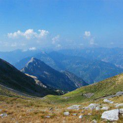 photo of view fromhelidona mountain, Karpenisi, travel & discover mysterious Greece