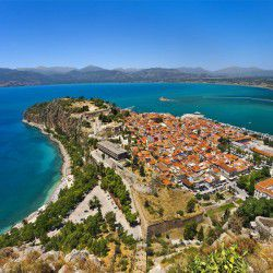 photo of view frompalamidicastle, Nafplio, travel & discover mysterious Greece