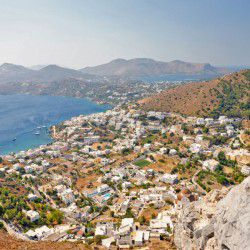 photo of view fromthecastle istock, Leros, travel & discover mysterious Greece