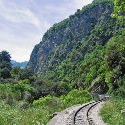 photo of vouraikos gorge, Kalavryta, travel & discover mysterious Greece