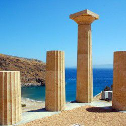 photo of ancient karthea, Kea, travel & discover mysterious Greece