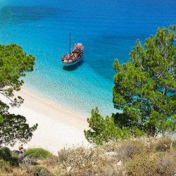 photo of apella beach, Karpathos, travel & discover mysterious Greece