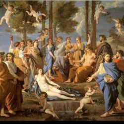 Apollo & the Muses by Raffaello