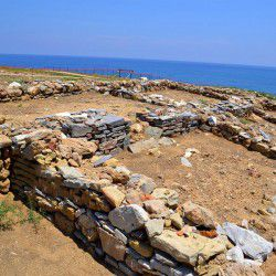 photo of archaeologicalsitepalamari, Skyros, travel & discover mysterious Greece
