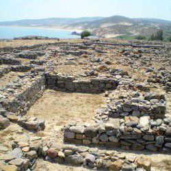 photo of archaeologicalsitepoliochni, Lemnos, travel & discover mysterious Greece