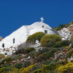 photo of chapelof agios nikolaos, Tilos, travel & discover mysterious Greece