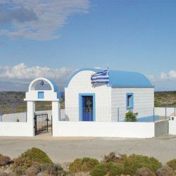 Church of Metamorfosis Sotiros © Official Website of Agathonisi
