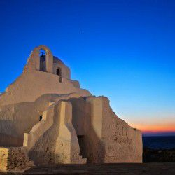 photo of church  pan agia  paraportiani, Mykonos, travel & discover mysterious Greece