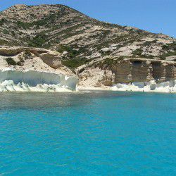 photo of crystal water, Polyaigos, travel & discover mysterious Greece