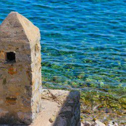 photo of crystal water, Tilos, travel & discover mysterious Greece