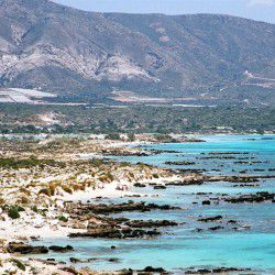Elafonisi Beach © Olaf Tausch by Wikimedia