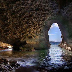 photo of filoktitis cave, Lemnos, travel & discover mysterious Greece
