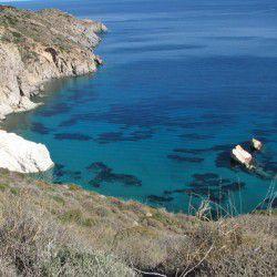 photo of firopotamos beach, Milos, travel & discover mysterious Greece