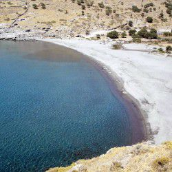 photo of ftelio beach, Agios Efstratios, travel & discover mysterious Greece