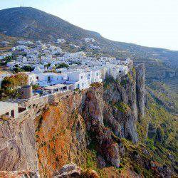 photo of hora, Folegandros, travel & discover mysterious Greece