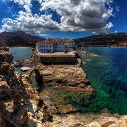 photo of hora and rou, Andros, travel & discover mysterious Greece