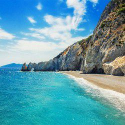photo of lalaria beach, Skiathos, travel & discover mysterious Greece