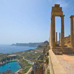 Lindos Acropolis ©Saffron Blazeby Wikimedia