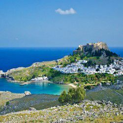 Lindos View © Jebulon by Wikimedia