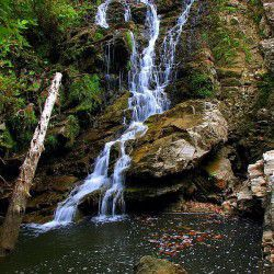 photo of maries waterfalls, Thassos, travel & discover mysterious Greece