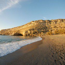 Matala Beach © John and Melanie Illingworth Kotsopoulos by Flickr
