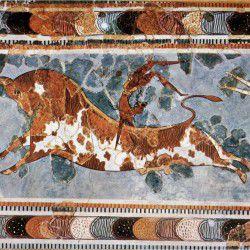photo of minotaurfresco, Mythology, travel & discover mysterious Greece