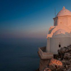 photo of monastery kalamiotisa, Anafi, travel & discover mysterious Greece