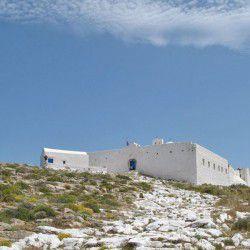 photo of monastery zoodohospigi, Sikinos, travel & discover mysterious Greece