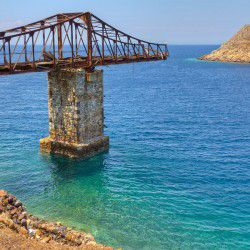 photo of pier, Serifos, travel & discover mysterious Greece