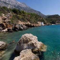 photo of plaka beach, Samos, travel & discover mysterious Greece